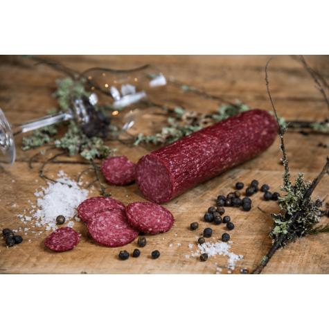 Festpølse med akevitt 300 gram - Svindland