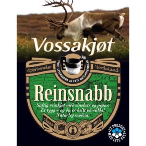 Reinsnabb - Mattradisjon - Vossakjøt
